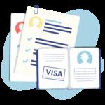 german speaking visa help