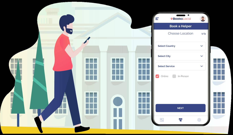booka local app coming soon